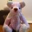 ตุ๊กตาหมีผ้าฝ้ายสีชมพู ขนาด 14 cm. - Herbie thumbnail 4