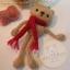ตุ๊กตาหมีถักขนาด 12 cm. - Olive (red brown) thumbnail 1
