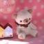 ตุ๊กตาหมีผ้าขนสีขาวขนาด 10 cm.- Cake (sit ) thumbnail 6