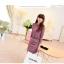 ชุดเดรสแฟชั่นเกาหลีเสื้อคอจีนลายสวยดูเด่นมากค่ะ แขนยาวมาพร้อมเข็มขัดเข้าชุดสวยค่ะไซส์ XL มี2สี สีชมพู/สีเขียว thumbnail 5