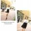 เดรสแฟชั่นเกาหลีเสื้อแขนยาวคอปก สีขาว+ตัวชุดด้านในเสื้อแขนกุดเข้ารูปสีดำ สินค้าตามแบบคะ thumbnail 5