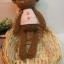 ตุ๊กตาหมีถักขนาด 18 cm. - PiPo ( brown) thumbnail 2