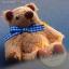 ตุ๊กตาหมีผ้าขนสีน้ำตาลขนาด 6.5 cm. - BeanBear thumbnail 1