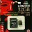 Kingston MicroSD 32GB (Read 90MB/s, Write 45MB/s)(Synnex/ABT) thumbnail 1