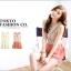 Tokyo Fashion เสื้อแขนกุดคอปกตัดต่อด้วยผ้าโครเช สีแดงปูน สวยมากค่ะตัวนี้ thumbnail 3