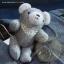 ตุ๊กตาหมีผ้านิ่มสีเทาขนาด 16.5 cm. - Winter thumbnail 4