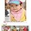 สีแดง หมวกมีปีกอาราเล่น้อย Size 9 - 24 เดือน สำหรับรอบศรีษะ 45-50 ซม. (สินค้าอาจมีสกรีนลายที่ไม่เนี๊ยบ แต่ถ่ายรูปแล้วน่ารัก ขายราคาถูกค่ะ) thumbnail 3