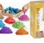 มีคลิปวีดีโอค่ะทราย Kinetic sand เล่นเหมือนดินน้ำมัน ทรายมหัศจรรย์ ทรธรรมายของเล่นสนุก (1 กล่องสีเดียวน้ำหนัก 1กก.) thumbnail 2