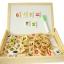 กล่องกระดานไวท์บอร์ดพร้อมตัวอักษร/ตัวเลขแบบแม่เหล็กและแบบโดมิโน thumbnail 11