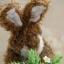 กระต่ายหูตั้งสีน้ำตาล ขนาด 26 ซม. thumbnail 4