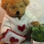 Teddy Bear (Be my Valentine.) ขนาด 21 ซม. thumbnail 2