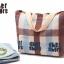 พร้อมส่งค่ะ Cher shore fabric tote original package เท่ๆน่ารักแบบเรียบง่ายค่ะ thumbnail 8