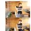 ชุดแม็คซี่เดรสแขนกุด ตัดต่อผ้าเป็นสีทูโทน สีดำพื้นตัดสีดำลาย กระโปรงยาวพริ้วๆสวย ดูดี แบบไฮโซ ตามภาพค่ะ thumbnail 2