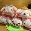 พร้อมส่ง So cute 2015 Sanrio Mame Petit Tsum Tsum Sakura Blossom key chain thumbnail 5