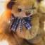 ตุ๊กตาหมีผ้าขนฟูขนาด 22 cm. - Durum thumbnail 6