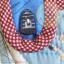 กระเป๋าสตางค์พับงานควิลท์+กระเป๋าปิ๊กแป๊ก seascape thumbnail 3