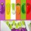 เกมส์คอนโดผัก Vegetables Building Blocks thumbnail 4