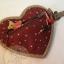 กระเป๋าผ้า patchwork ใส่เหรียญรูปหัวใจลายหน้าหมี thumbnail 3