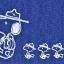 พร้อมส่งค่ะ Snoopy Peanuts denim style zip purse thumbnail 4