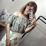 เสื้อเกาะอก แฟชั่นยอดนิยมของเหล่าสาวๆ ที่ต้องไม่พลาดสวมใส่ - เขียว