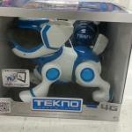 TEKNO Robotic Puppy with Bone& Ball