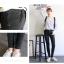 กางเกงยีนส์แฟชั่นยอดนิยม สีดำทรงคลาสสิค สีนี้ทรงนี้ ยังไงก็ต้องมีไว้ครอบครอง thumbnail 7