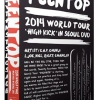 [Pre] Teentop : TEENTOP 2014 WORLD TOUR - HIGH KICK IN SEOUL DVD